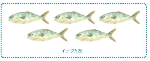 魚のプレゼント/八木山動物公園